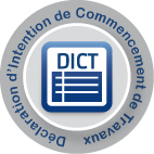 DICT DEMANDE D INTENTION DE COMMENCEMENT DE TRAVAUX