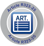 Article R323-25