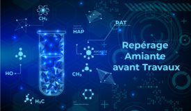 REPERAGE AMIANTE AVANT TRAVAUX